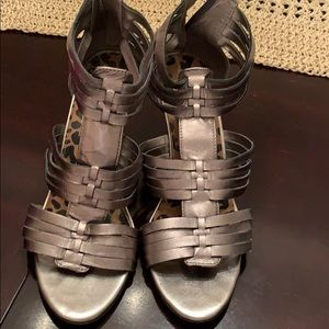 Leather Jessica Simpson shoes